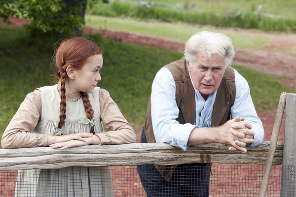 "Ella Ballentine, Martin Sheen | ""Anne of Green Gables"""